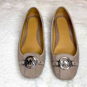 Michael Kors Flats with Silver Hardware